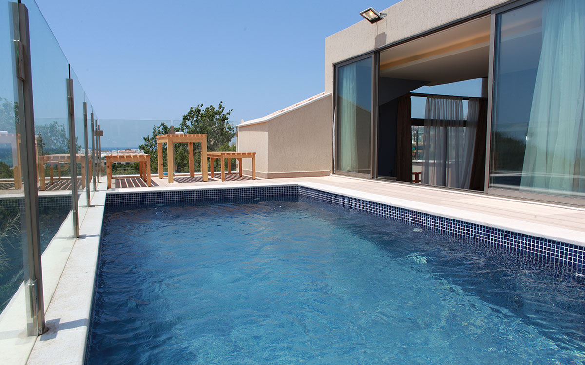 Presidential Roof Chalet Camping Les Colombes
